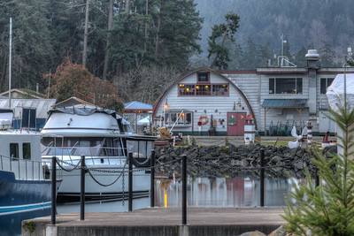 The Shipyard Restaurant - Maple Bay Marina, Cowichan Valley, Vancouver Island, British Columbia, Canada