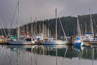 Early Morning - Maple Bay Marina, Vancouver Island, British Columbia, Canada