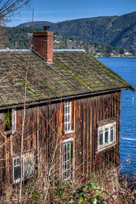 Old House by the Sea - Vancouver Island, BC, Canada