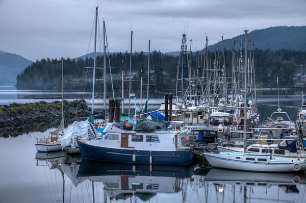 Coastal Scenes - Crofton, Vancouver Island, BC, Canada