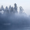Foggy Winter Day - Chemainus, Cowichan Valley, Vancouver Island, British Columbia, Canada