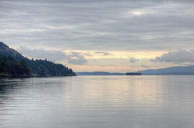 Marine Seascape - Vancouver Island, BC, Canada