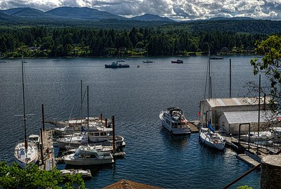 """Marine Vista - Ladysmith, Vancouver Island, BC, Canada Visit our blog """"Across The Water"""" for the story behind the photo."""