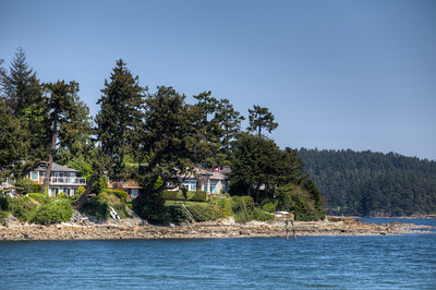 Homes On The Ocean - Roberts Bay, Sidney, Vancouver Island, BC, Canada