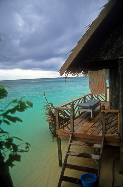 Cabin number 5 Sipadan Island- The best ocean front hotel room I have ever had