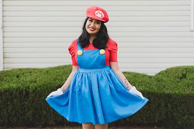 Mario  + Luigi Halloween Costumes