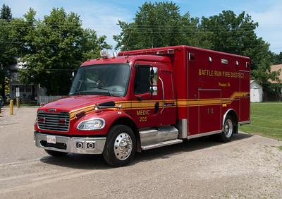 Battle Run Fire District M-205
