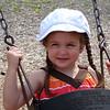 Kennedy on the swings :)