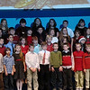 Dylan's 4th grade class...Dylan is in the center, one row down from the top