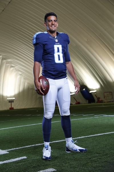 Tennessee Titans 2015 1st Round Draft Pick Marcus Mariota at St. Thomas Sports Park in Nashville, Tenn. on May 1, 2015. Photos by Donn Jones Photography