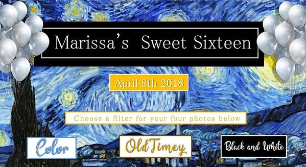 Marissa's Sweet 16