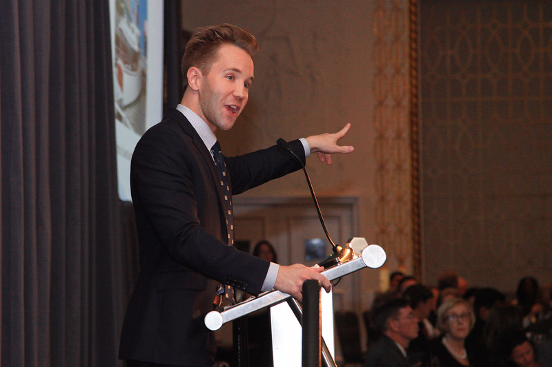 Christie's Auctioneer Robbie Gordy