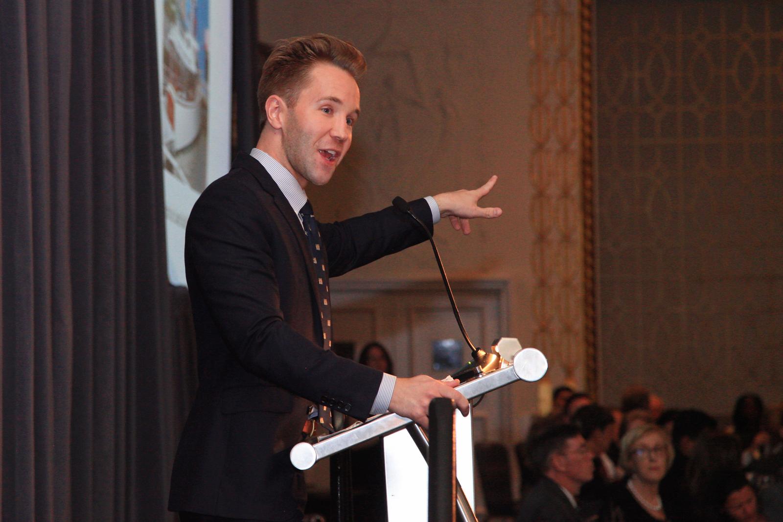 Christie's Auctioneer Robbie Gordy