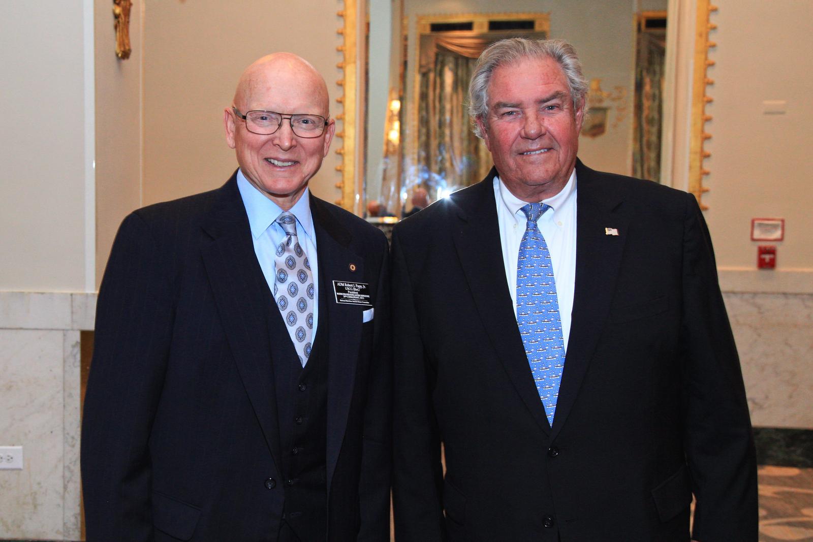 Admiral Robert J. Papp, Jr. USCG (Ret.) and Boysie Bollinger