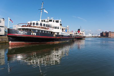 River Mersey Ferry Royal Iris of the Mersey and the Royal Daffodil