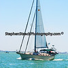 sail boat off of Fort Myers Beach, Florida