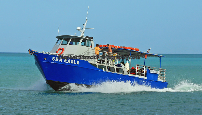 Scuba boat off Key West, Florida.