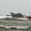 U.S. Coast Guard patrolling Fort Myers Beach,  Florida during Tropical Storm,  Debbie, 2012.