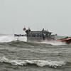 U.S. Coast Guard patrolling Fort Myers Beach,  Florida during Tropical Storm,  Debbie, 2012.