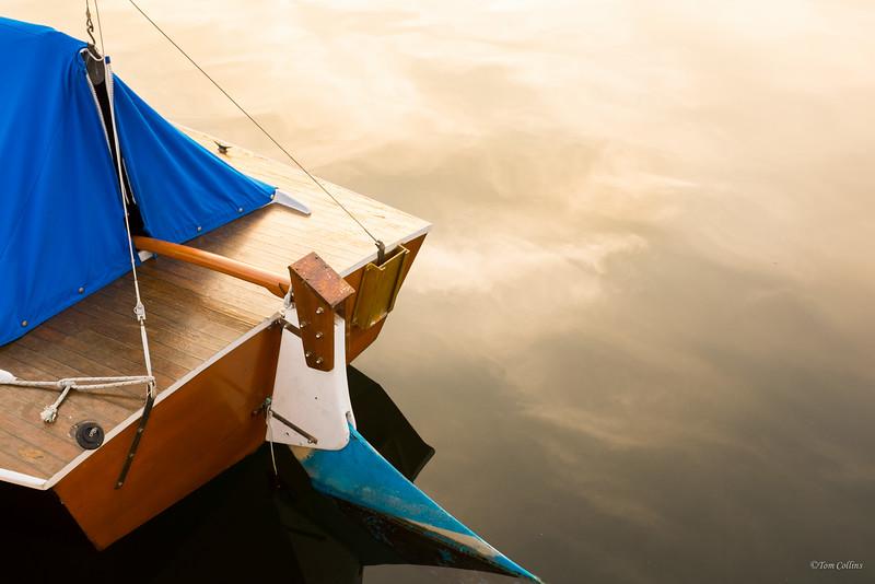 Boat at Sunset, Gig Harbor, Washington