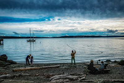 Day Dreaming in Port Townsend, Washington.  20161009-L1050894-Edit