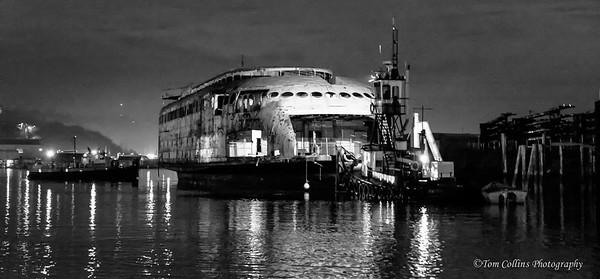 The Final Voyage of The Kalakala Ferry. Kalakala-