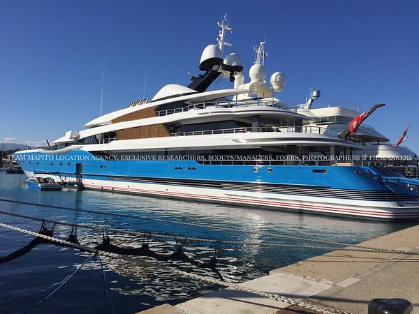 Superyacht industry, Marinas & Moorage