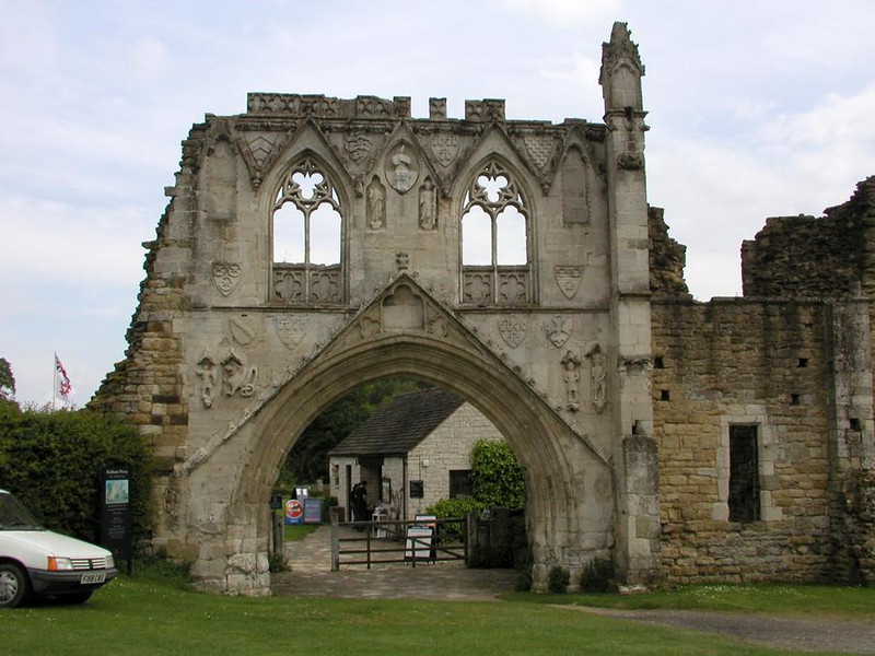 Kirkham Priory Gatehouse  - 4th June 2002