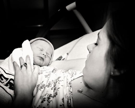 Mark James Nicholson's Birth