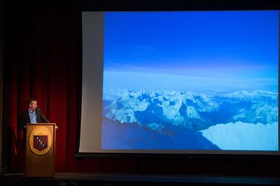 Mark Milewski speaks during Morning Meeting