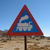 Road sign, Namibia