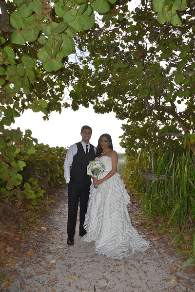 Beautiful intimate wedding at Anna Maria Island, FL