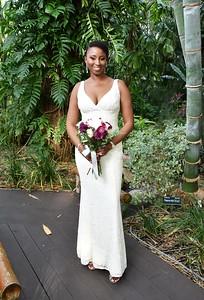 Beautiful intimate wedding Marie Selby Botanical Gardens, Sarasota FL