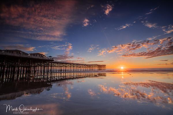 Crystal Pier Sunburst