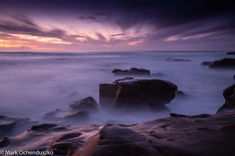 Windansea Sky in Purple