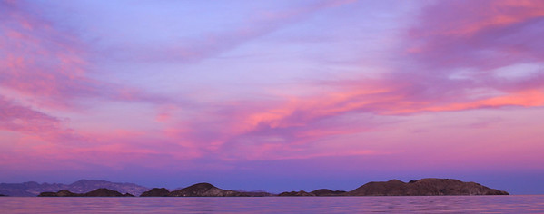 Bahia De Los Angeles In Pink