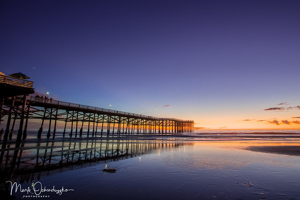Crystal Pier in Blue