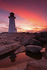 Peggy's Cove Lighthouse - Nova Scotia - Mark Rasmussen - October 2011