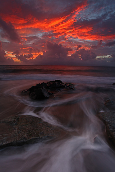 West Maui sunset - Hawaiian Islands - Mark Rasmussen - February 2011