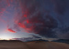 Great Sand Dunes Sunset - Panoramic - Great Sand Dunes National Park, Colorado - Mark Rasmussen - July 2011