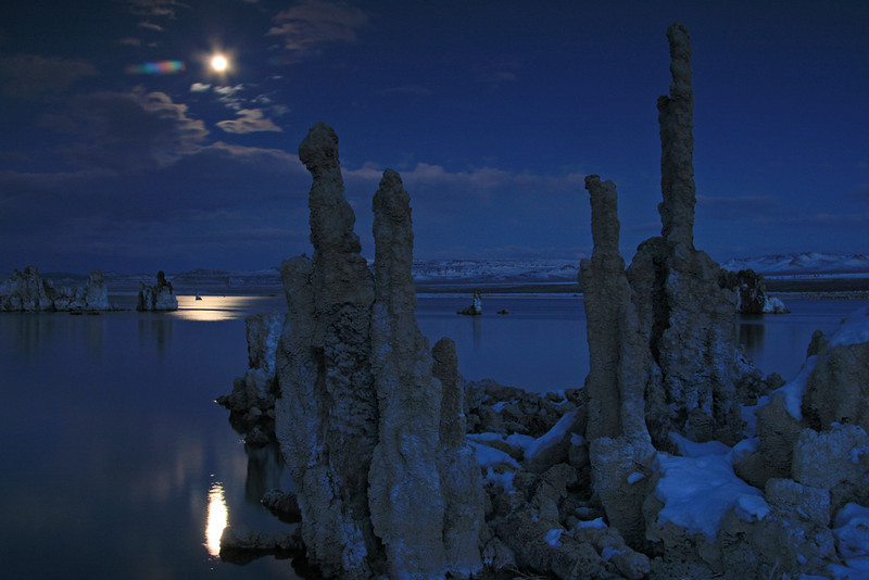 Moonlight over Mono Lake - Mono Lake Tufa State Natural Reserve, California - Mark Rasmussen