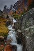 Tamarack Waterfall - Canadian Rockies - Mark Rasmussen - September 2010