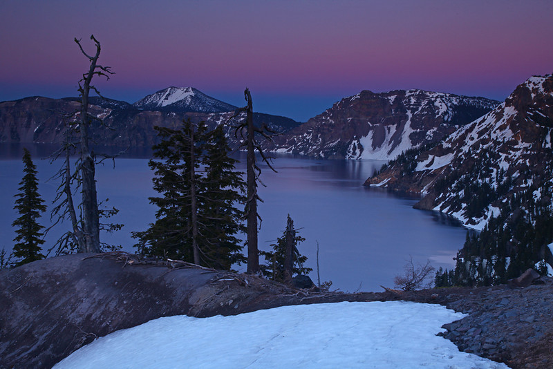 Edge of Dusk - Crater Lake National Park, Oregon - Mark Rasmussen - June 2010