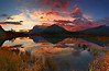 Vermillion Lakes sunrise - Panoramic - Canadian Rockies - Mark Rasmussen - October 2010