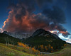 Kings Creek - Panoramic - Canadian Rockies - Mark Rasmussen - September 2010