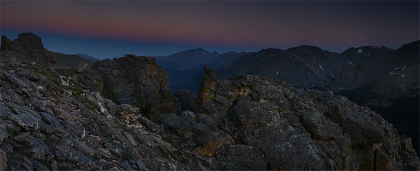 Rock Cut - Panoramic - Rocky Mountain National Park, Colorado - Mark Rasmussen - July 2011