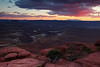 Sunset at Green River Overlook - Canyonlands National Park, Utah - Mark Rasmussen - July 2011