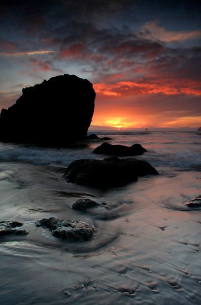 Ruby Beach sunset - Olympic National Park, Washington - Mark Rasmussen