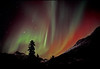 Auroral swirls - Canadian Rockies - Mark Rasmussen