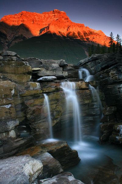 Athabasca Falls magic - Canadian Rockies - Mark Rasmussen